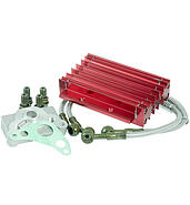 The oil cooler red 139FMB 50 4T AC