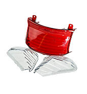 Shades rear lamp white