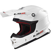 LS2 Kask offroad LS2 MX456 Light Solid White