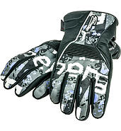 IM Motorcycle gloves winter with print