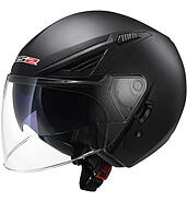 LS2 Kask otwarty LS2 OF586 Bishop Solid Matt Black