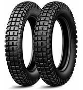Michelin MICHELIN TYRE 120 / 100R18 TRIAL COMPETITION LIGHT X 68m TL M / C REAR
