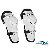 Polisport Knee hinges universal Junior / elbow pads for adults Polisport Devil, White