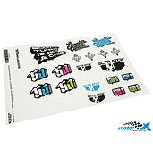 Stickers Scooter-Attack set