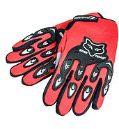 Motorcycle gloves Red Fox