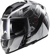 LS2 Kask zamknięty LS2 FF397 Vector Cosmos White Black