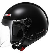 LS2 Kask otwarty LS2 OF560 Rocket II Solid Black