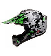 LS2 Kask offroad LS2 MX433 Blast White Black Green