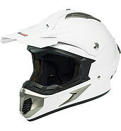 LS2 Kask offroad LS2 MX433 Race Solid White