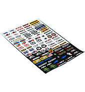 Stickers set of large tuning 30x45cm