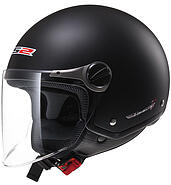 LS2 Kask otwarty LS2 OF560 Rocket II Solid Matt Black