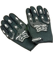 Motorcycle gloves Black Fox
