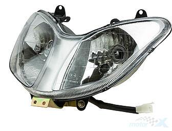zipp klosz przedniej lampy