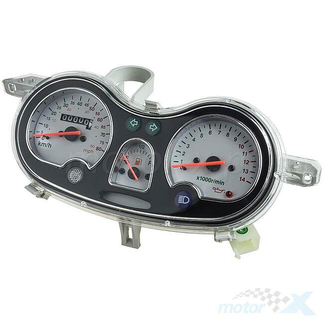 Tachometer 9-polig männlich / 10 Drähte Romet 787 / Barton Hurrikan ...
