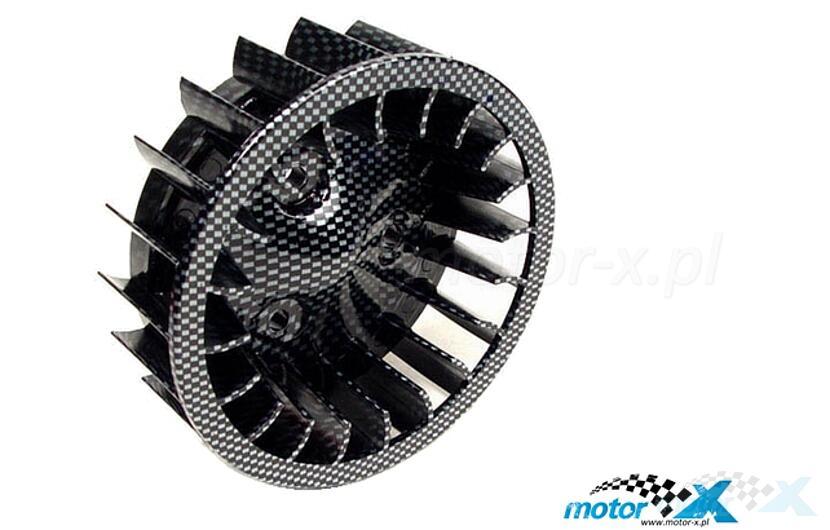 Wentylator silnika carbon STR8 Oversize CPI / Keeway / Minarelli leżące AC