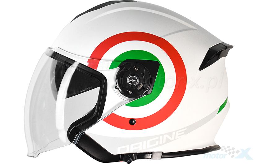 Kask otwarty PALIO 2.0 ITALY biały Origine