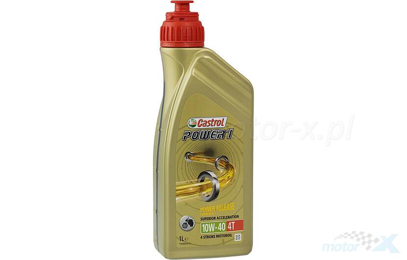 Olej silnikowy Castrol Power1 półsyntetyczny 4T 10W40 1L