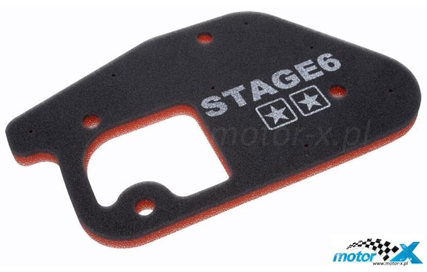 Wkład filtra powietrza gąbka Stage6 Minarelli vert. 50 2T AC